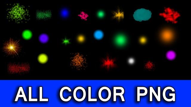 All Color Png Download, Png Color Effect Download, Light Color Png