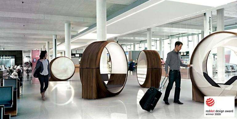 OBSIDEON Pod Rethinking The Airport Experience Swiss