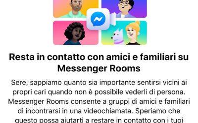 Messenger Rooms Facebook: come funziona