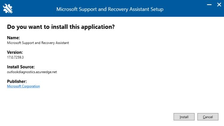 """Microsoft Support and Recovery Assistant soll das Problem der """"Windows-Sicherheit""""-Abfrage in Microsoft Outlook lösen können"""