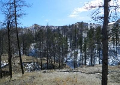 Robert's Trail along the Pine Ridge National Recreation Area