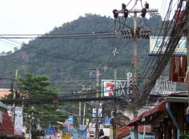 Strom auf Koh Samui