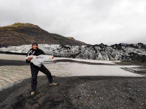 Gletschereis ist schwer