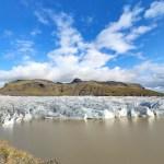 Gletscherzunge mit Gletschersee