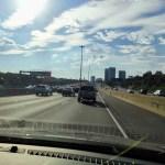 Toronto Highway: 7 Spuren in eine Richtung