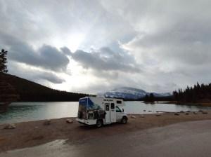 Unser Wohnmobil in Banff