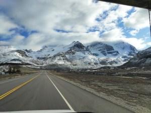 Icefields Parkway Szenerie