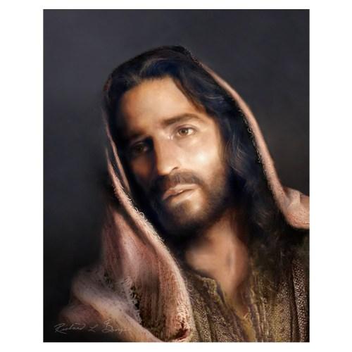 Portrait of Christ Print