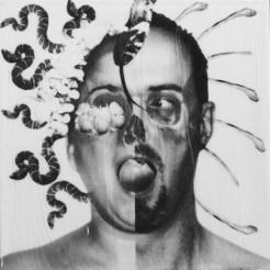 """Adam & Eve"" 12x12 by Artist R.L. Gibson"