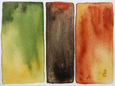 """""""Wormy Chestnut"""" (5""""x7"""" watercolor on 140lb waterpress) by R.L. Gibson"""