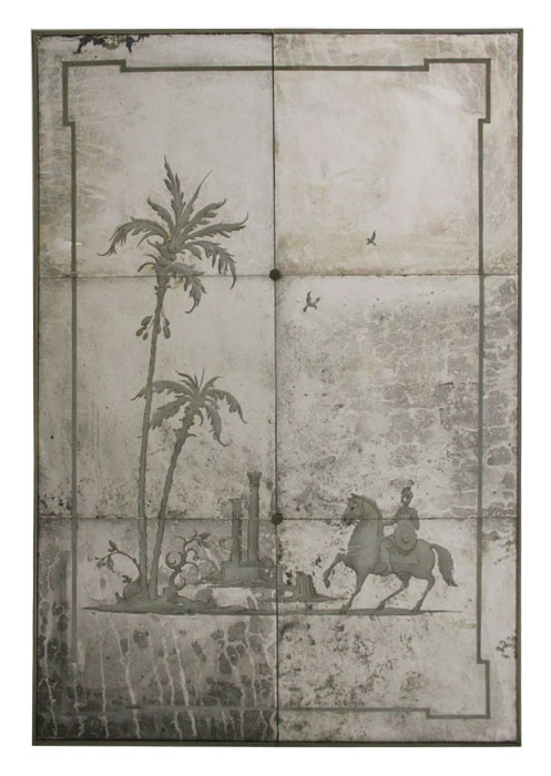 Painted Screens Room Dividers Decorative Folding Screens