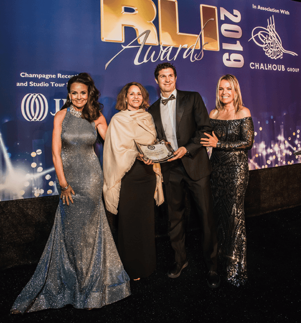 The Global RLI Awards 2019 - Interior Excellence 2019
