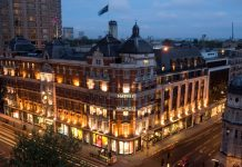 Harvey Nichols Knightsbridge_Night