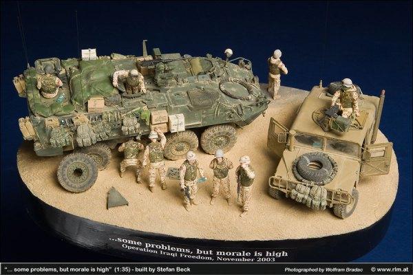 Diorama Iraqi Freedom, November 2003