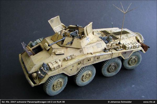 The Luftwaffe in Scale: Sd. Kfz. 234/1