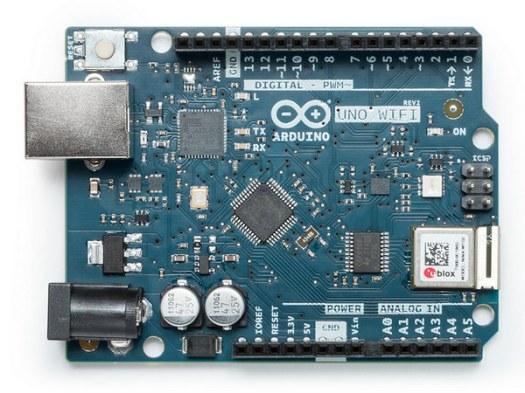 Плата Arduino Uno Wi-Fi Rev2 выполнена на новом микроконтроллере ATmega4809.