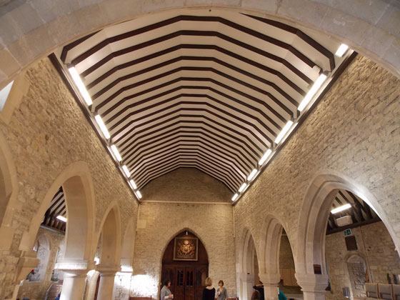 St john the baptist parish church rm electrical group ltd after lengthy consultation with the customer and several site visits the design team determined to make a feature of the beautiful vaulted ceiling of the aloadofball Images