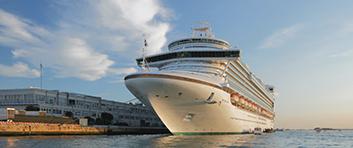 Cruise Ship in dock