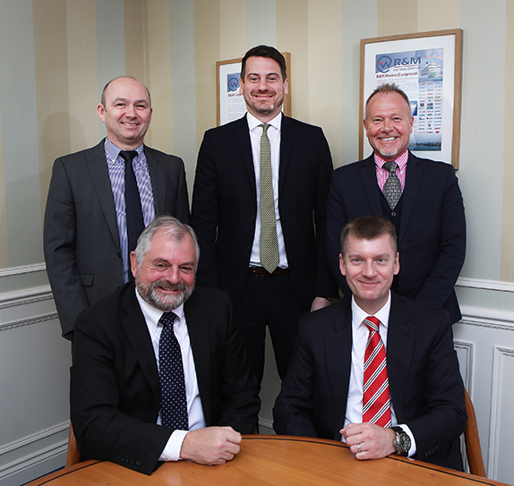 The directors of R&M Electrical Group