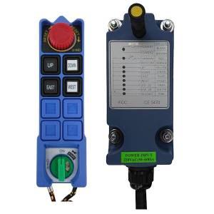 Radiocommande L6B • 4 boutons (2 crans)