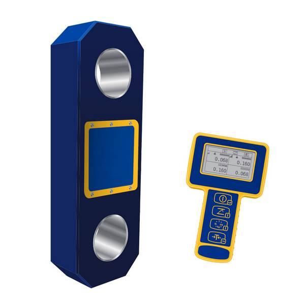 Peson numérique à transmission radio avec mini afficheur 500 t