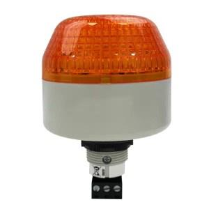 Voyant     flash orange compact • à encastrer