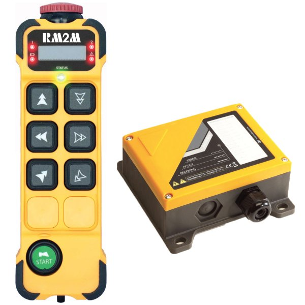 Radiocommande K606 • 6 boutons (2 crans)