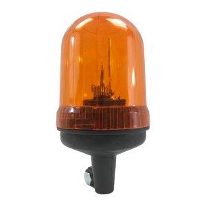 Gyrophare orange • Connecteur rapide • Hauteur verrine 140 mm