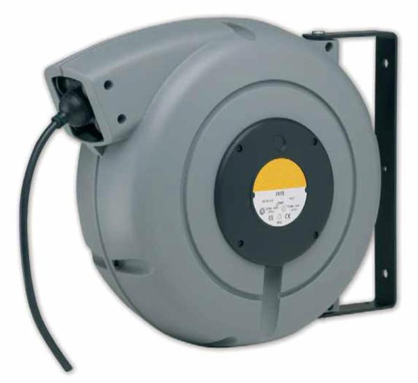 Enrouleur de câble à rappel automatique • Câble 3G2,5 • 20m • Série 7000