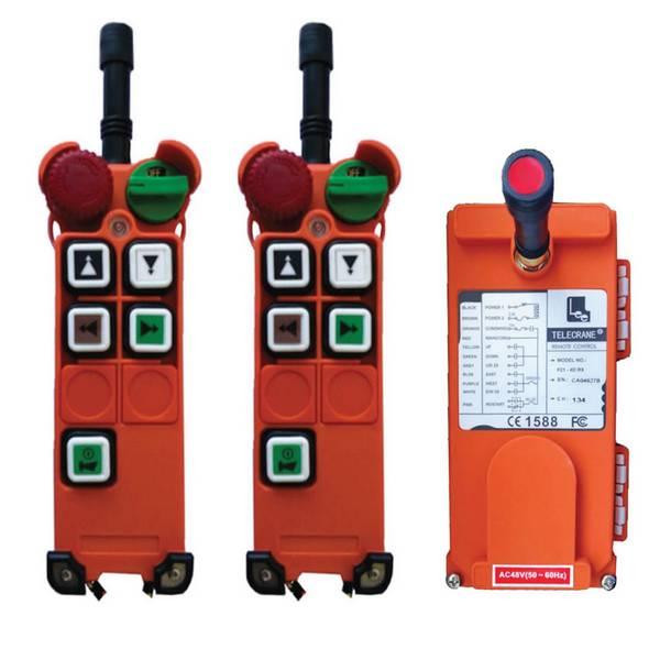 Radiocommande F21-4S • (4 boutons 1 cran) et son émetteur de secours