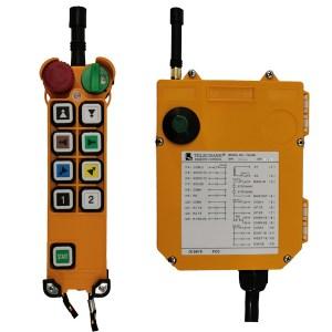 Radiocommande industrielle F24 – 8D • 8 boutons (2 crans)
