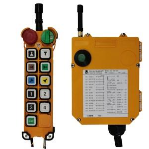 Radiocommande industrielle F24 – 10D • 10 boutons (2 crans)