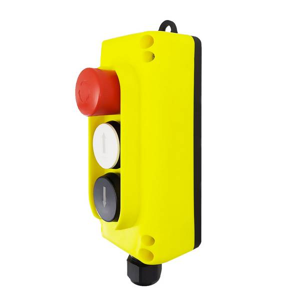 Boîte à boutons                2 boutons + 1 arrêt d'urgence