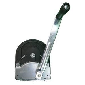 Treuil manuel de levage et halage auto freiné 1500 kg • 2 vitesses