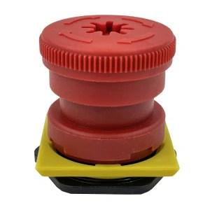 Bouton arrêt d'urgence (tête de bouton)
