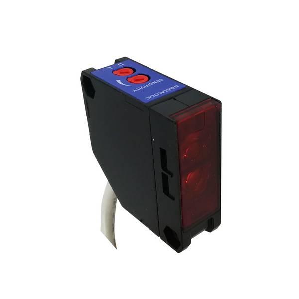 Barrière photoélectrique infrarouge • Récepteur • portée 20m