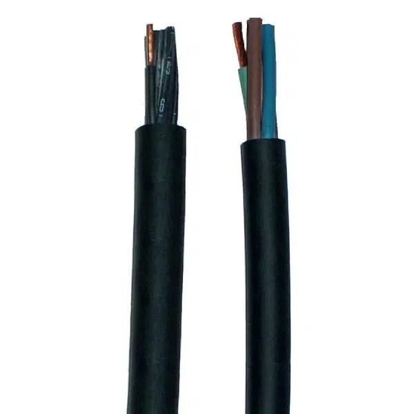 Câble       rond gaine néoprène • 5G6 mm²