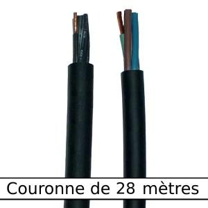 Câble  rond gaine néoprène • 24G1,5 mm² • 28 m