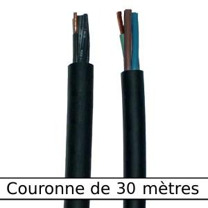 Câble   rond gaine néoprène • 19G1,5 mm² • 30 m