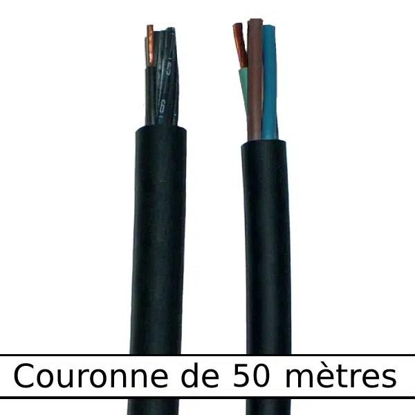 Câble         rond gaine néoprène • 5G2,5 mm² • 50 m