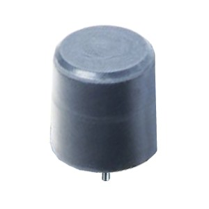 Tampon         amortisseur en polyuréthane élastomère M12 x 35 • Ø125 x 125 mm