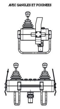 pupitre opérateur portatif ventral