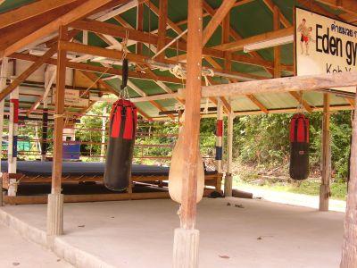 Reconstruction du camp après le Tsunami