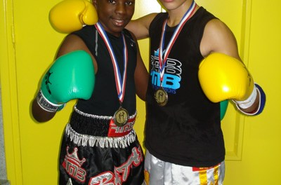 Deux jeunes Champions  pour le RMBOXING