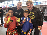 Elias, Rayan, et Lekchiri champions de France Educatifs