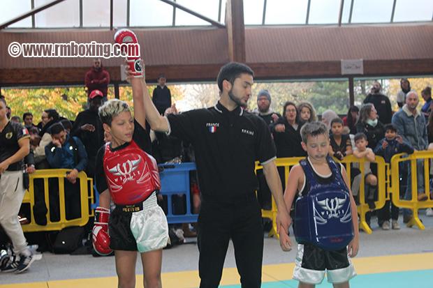 Kais Garrot RMBOXING Rachid Saadi au Championnat Ile de France FFFKMDA K-1