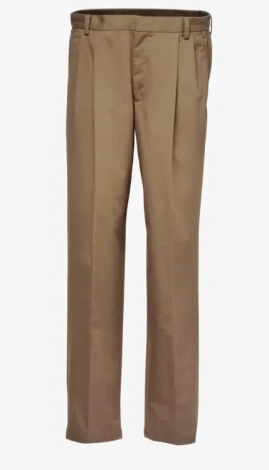 Dockers D4 Relaxed Fit Pleated True Chino Khaki Front