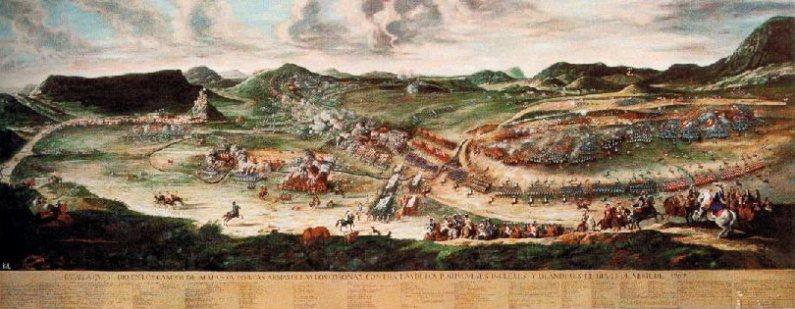 Cuadro Batalla de Almansa