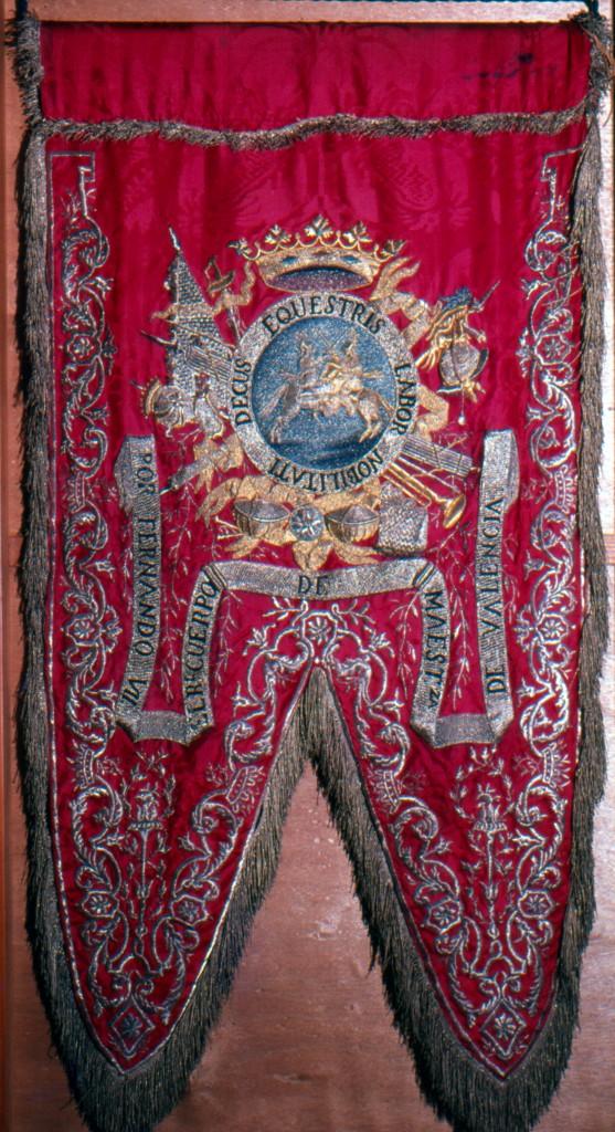 Estandarte en acción de guerra  R.O. 5/7/1809