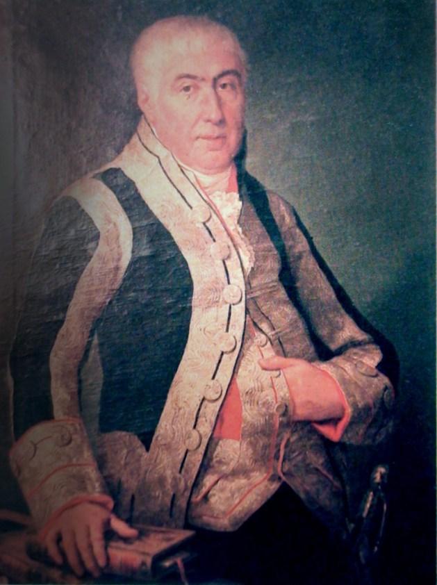 D. Rafael de Pedro y Trullench, Aztiria y de Cascajares. Marqués de San José, año 1766